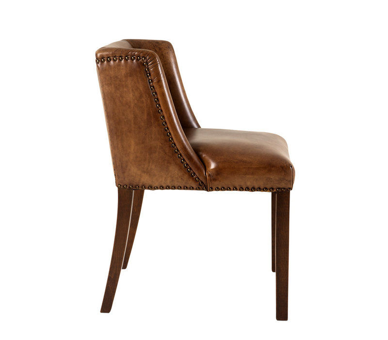 Dining Chair 'St. James' Tobacco leather