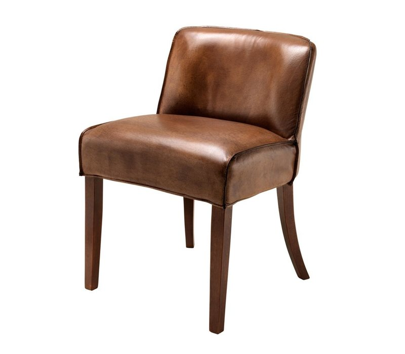 Dining Chair Barnes, Tobacco leather