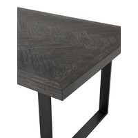 Dining Table Melchior, bronze finish