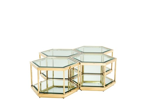 EICHHOLTZ 'Coffee Table Sax set of 4'
