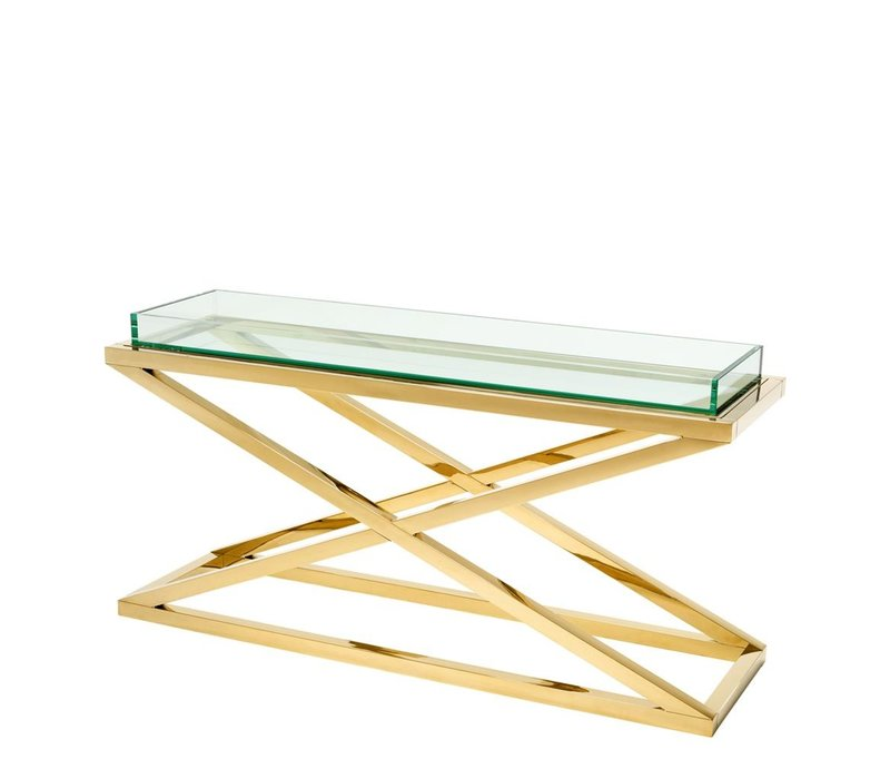 Console Tafel Curtis Gold