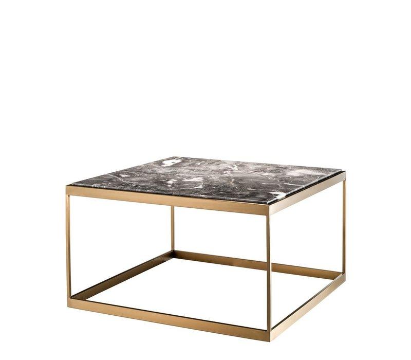 Side table 'La Quinta' gray marble