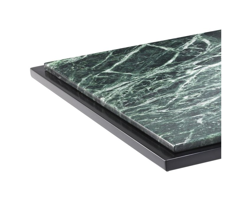 Side table 'Cocktail' green marble