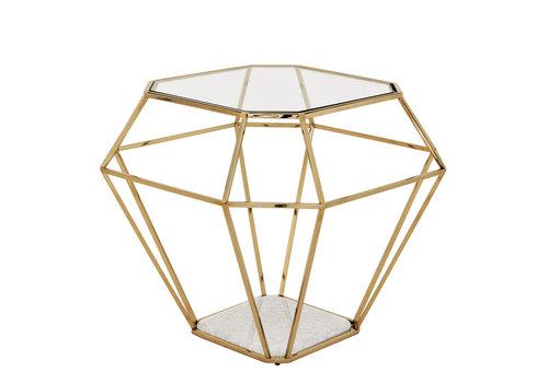 EICHHOLTZ Side Table Asscher 'Gold'