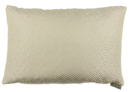 CLAUDI Chique Kissen Emiliano Dark Sand - special
