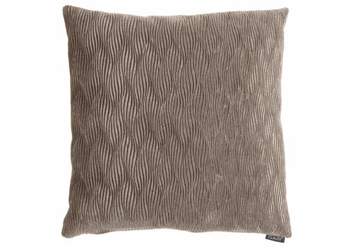 CLAUDI Chique Throw pillow Rachele Taupe - special