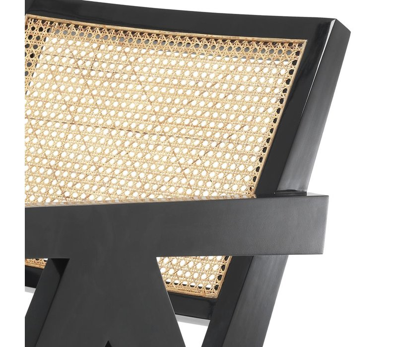Lounge Chair Adagio, natural cane