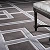 EICHHOLTZ Muster 60 x 60 cm Teppich:  'Burban'