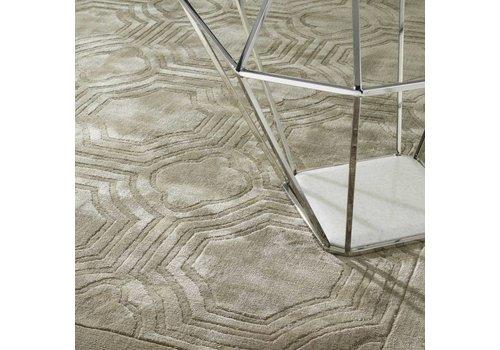 EICHHOLTZ Muster 60 x 60 cm Teppich: 'Harris' Sand