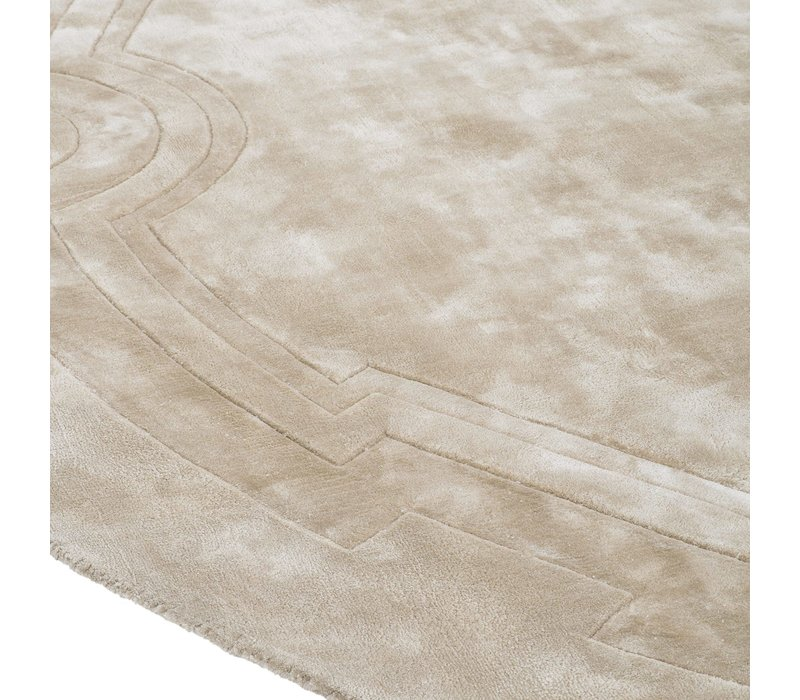 Muster 60 x 60 cm Teppich:  'Palazzo' Sand