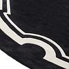 EICHHOLTZ Sample 60 x 60 cm Carpet: 'Palazzo' Black