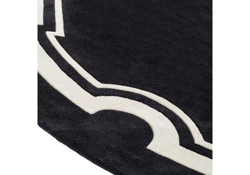 EICHHOLTZ Muster 60 x 60 cm Teppich: 'Palazzo' Black