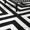EICHHOLTZ Sample 60 x 60 cm Carpet:  'Thistle' Black
