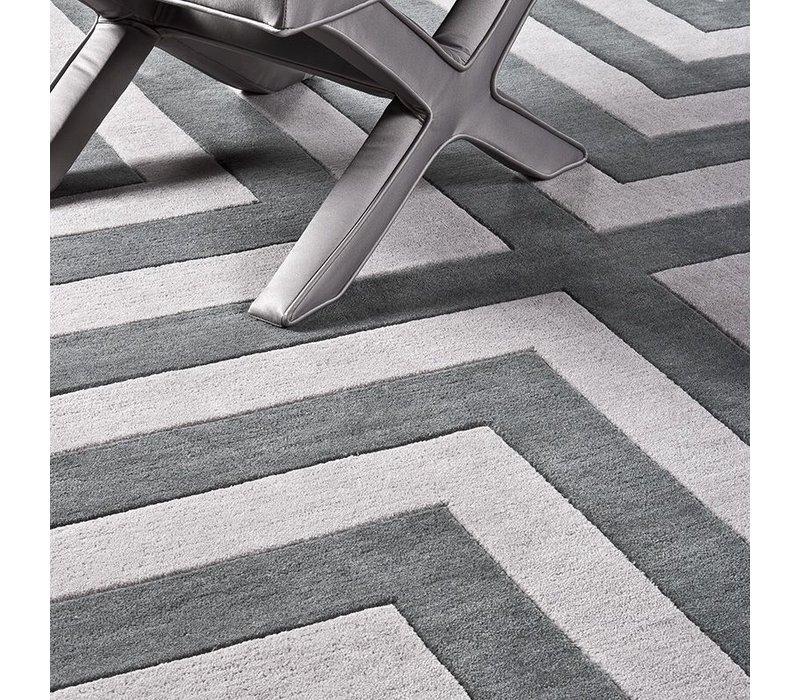 Sample 60 x 60 cm Carpet:  'Thistle' Grey