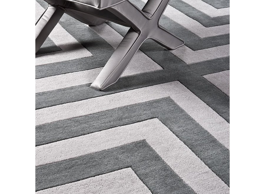 Muster 60 x 60 cm Teppich:  'Thistle' Grey
