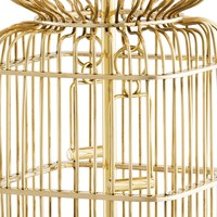 Design table lamp 'La Cage' with black shade
