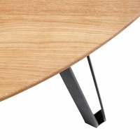 Dining table Space Natural Round- oak