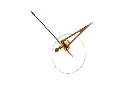 Nomon moderne wandklok 'Cris' - Gold