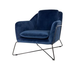 Magnificent Dome Deco Gin Lounge Chair Blue Squirreltailoven Fun Painted Chair Ideas Images Squirreltailovenorg
