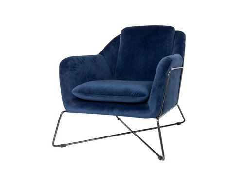 Dome Deco Gin Lounge Chair 'Blue'