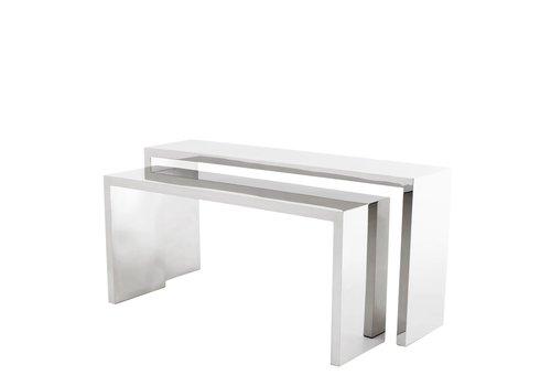 EICHHOLTZ Design console tafel 'Esquire' set van 2