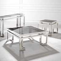 'Palmer' designer coffee table | 100 x 100 x 45 cm