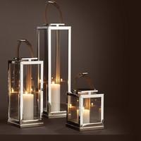 Candle lantern 'Georgian' - L