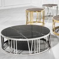 Design salontafel 'Roman Figures' | 100 x H33 cm