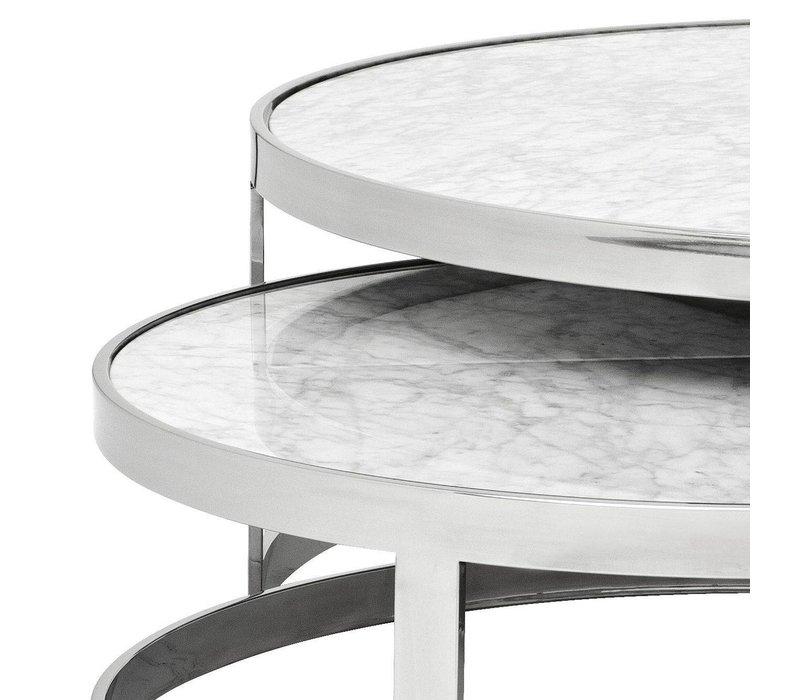 Design salontafel 'Fletcher' Set van 2