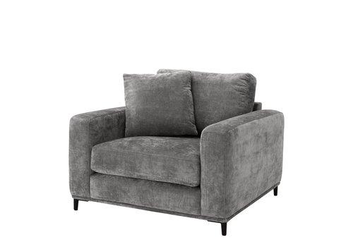 """EICHHOLTZ Chair Monterey """"Feraud"""" Grey"""