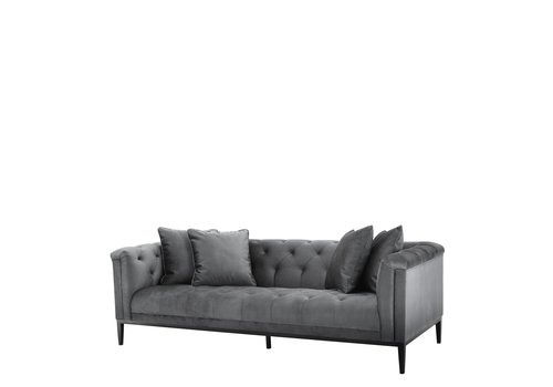 EICHHOLTZ Sofa 'Cesare' Granite Grey