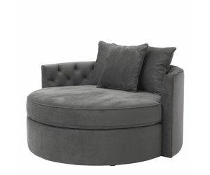 Lounge Sofa Carlita Granite Grey