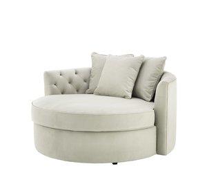 Lounge Sofa Carlita Pebble Grey