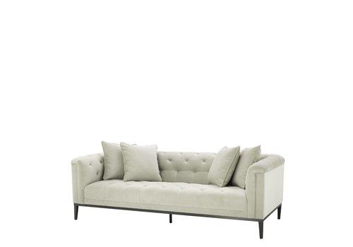 EICHHOLTZ Sofa 'Cesare' Pebble Grey