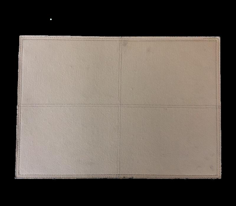 Placemat in de kleur Beige - Set van 2 stuks
