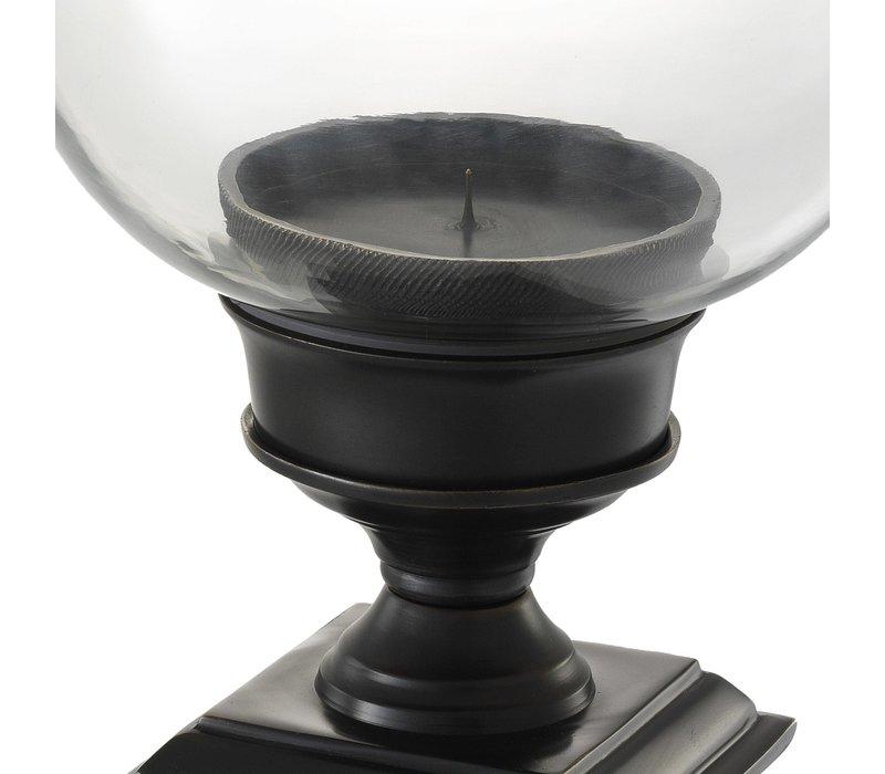 """Windlicht """"Datcha"""" Bronze H 48 cm"""