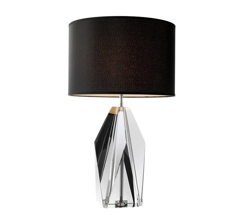 Table Lamp 'Setai' Smoke Crystal Glass