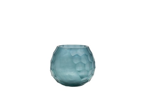 Dome Deco Tealight 'Blue' set of 2