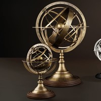 Decorative 'Globe', size S, is 29 cm tall.
