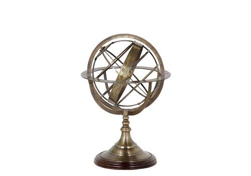 EICHHOLTZ Decoratie 'Globe' S - Bronze