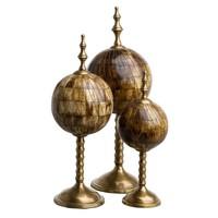 "Dekorationsset ""Leonardo"" aus 3 Objekten"