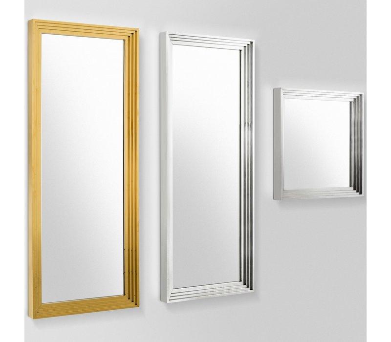 Wall mirror 'Levine' 86 x 219 cm , color silver