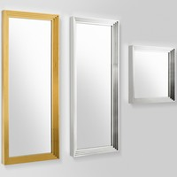 Wall mirror 'Levine' 100 x 100 cm , color silver