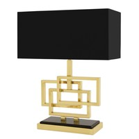 Tischlampe Windolf - Gold