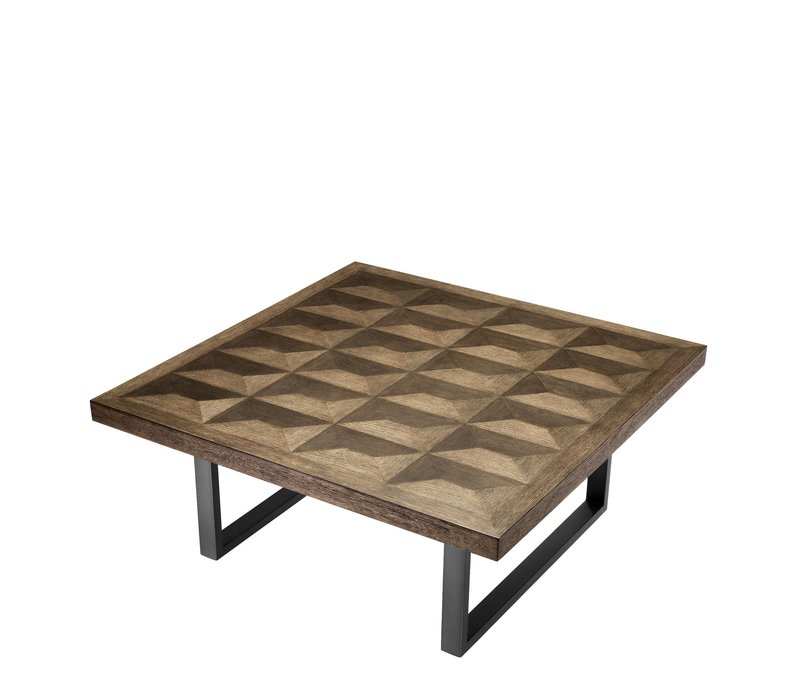 Coffee table 'Gregorio' 100 x 100 x H. 43 cm