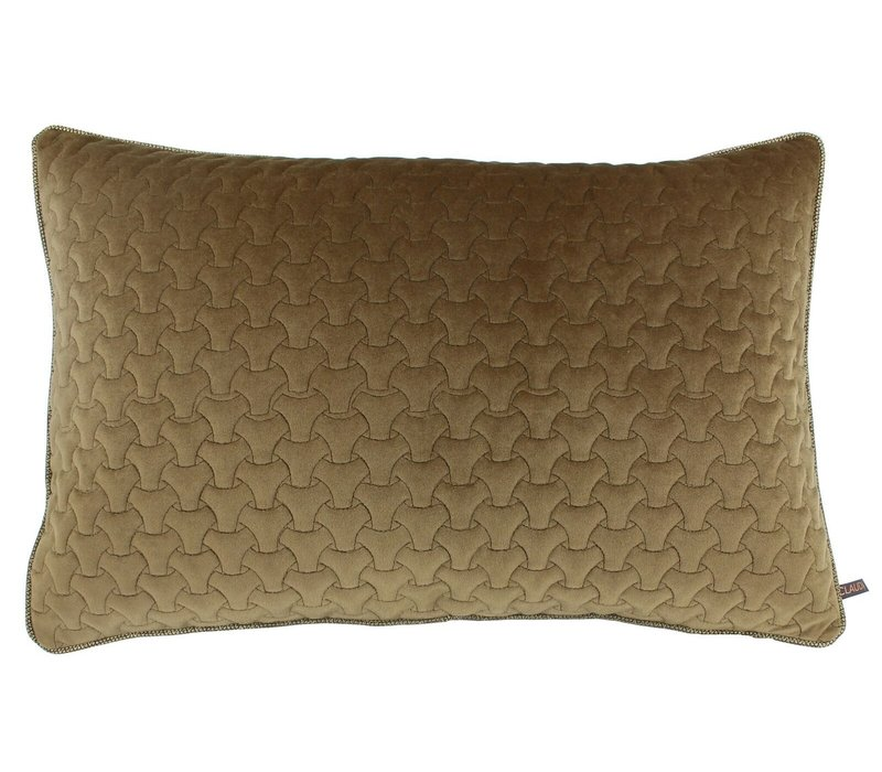 Cushion Izacco Gold Satin