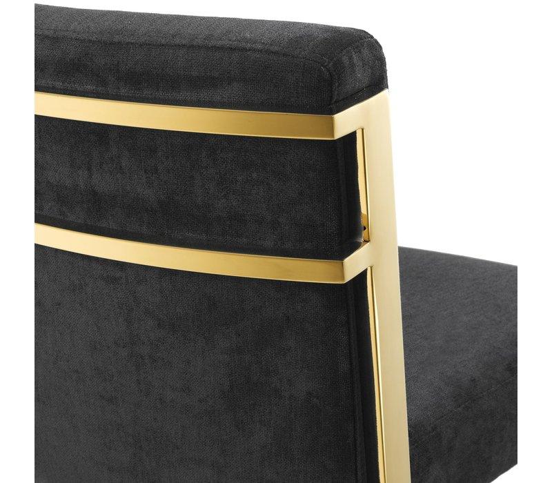 Designerbarhocker 'Scott' - Gold