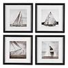 EICHHOLTZ Prints Boats set van 4