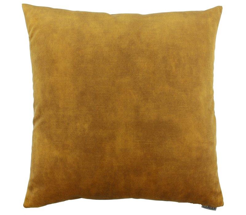 Cushion Adona in color Mustard