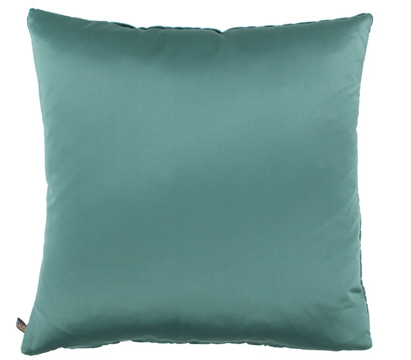 Cushion Assane in color Emerald